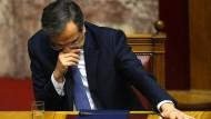 Griechenland muss Parlament neu wählen