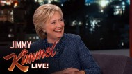 Hillary Clinton bei Jimmy Kimmel