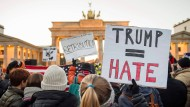Anti-Trump-Proteste auch in Berlin