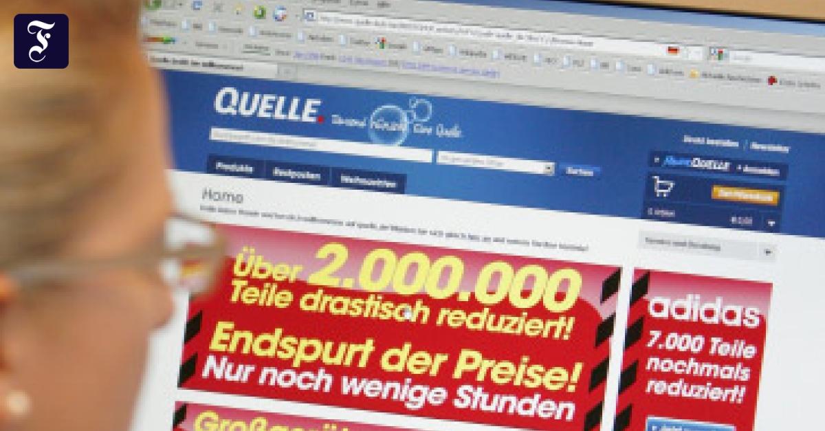 Insolvenz: Quelle bleibt auf 9 Millionen Artikeln sitzen ...