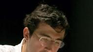 Besteht auf einer Exklusivtoilette: Wladimir Kramnik