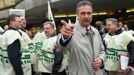 Auch die EVG droht mit Streik