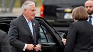 Proteste gegen Tillerson-Besuch in Bonn