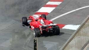 Schumacher abgeschlagen - Räikkönen Schnellster