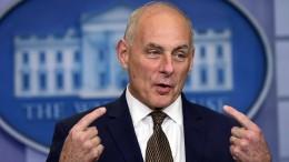 Stabschef Kelly verteidigt Trumps Verhalten