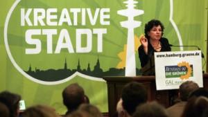 Grüne nach heftiger Debatte für Koalitionsverhandlungen