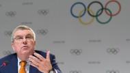 IOC-Präsident Bach preist Los Angeles als vielfältige Metropole