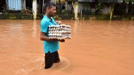 Monsun setzt Teile Indiens unter Wasser