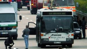 Busentführung ohne Verletzte beendet