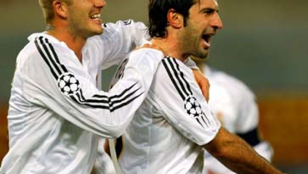 Ronaldo und Figo machen Real doch noch froh