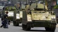 Mit Panzern in den Drogenkrieg