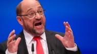 "Schulz: ""Merkel verweigert Zukunftsdebatte"""