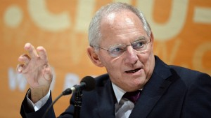 SPD stellt Ansprüche auf Schäubles  Amt