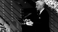 Richard von Weizsäcker - Mahner und Versöhner