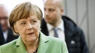 Griechenland ist Thema bei Kanzlerin und Grünen