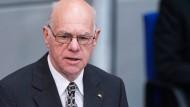 Lammert würdigt Kohl vor versammeltem Bundestag