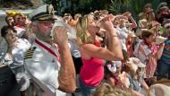 Muschelbläser messen sich in Florida