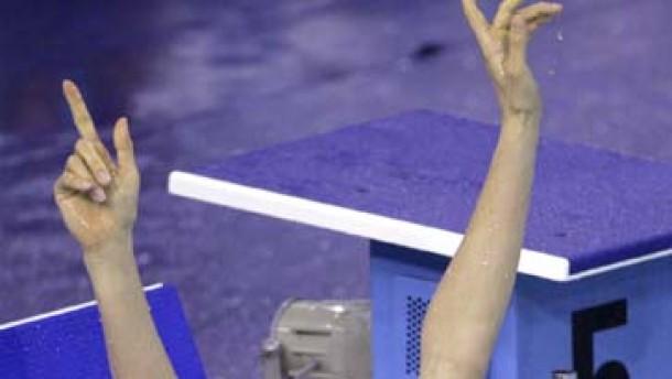 Trotz Medaillenflut nur Note drei für deutsche Schwimmer