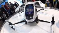 Das Drohnen-Taxi kommt