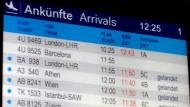 Bestürzung am Düsseldorfer Flughafen