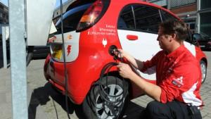Drei Elektroautos für Frankfurt