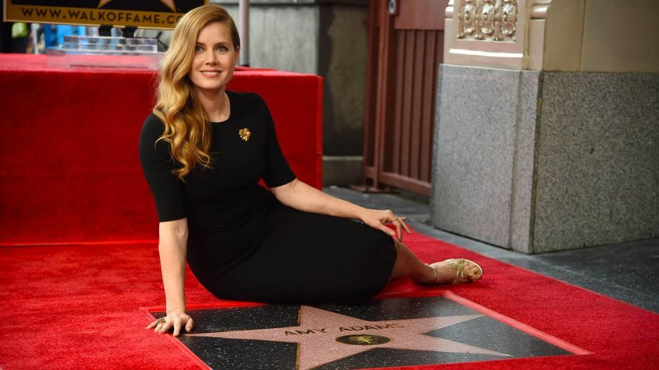 Amy Adams bekommt Stern in Hollywood