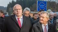 Flüchtlingskoordinator Altmaier besucht Grenzübergang