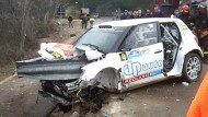 Kubicas Ausflug in die Rallye-WM: Knochenbrüche, innere Verletzungen, künstliches Koma