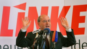 Linke wollen in Hessen ernsthaft mitmachen