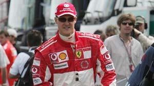 Schumacher Vierter im freien Training
