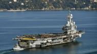 Französischer Flugzeugträger zu Anti-IS-Einsatz gestartet