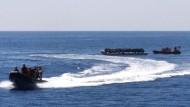 Bundesmarine rettet erneut Menschen im Mittelmeer