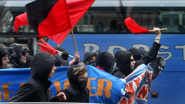 Linksextremisten mit Sprengsätzen festgenommen