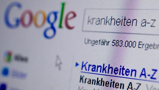 Google Suchmaske