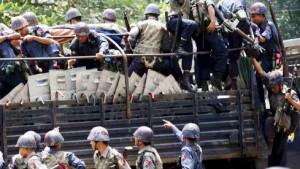Tote und Verletzte in Burma