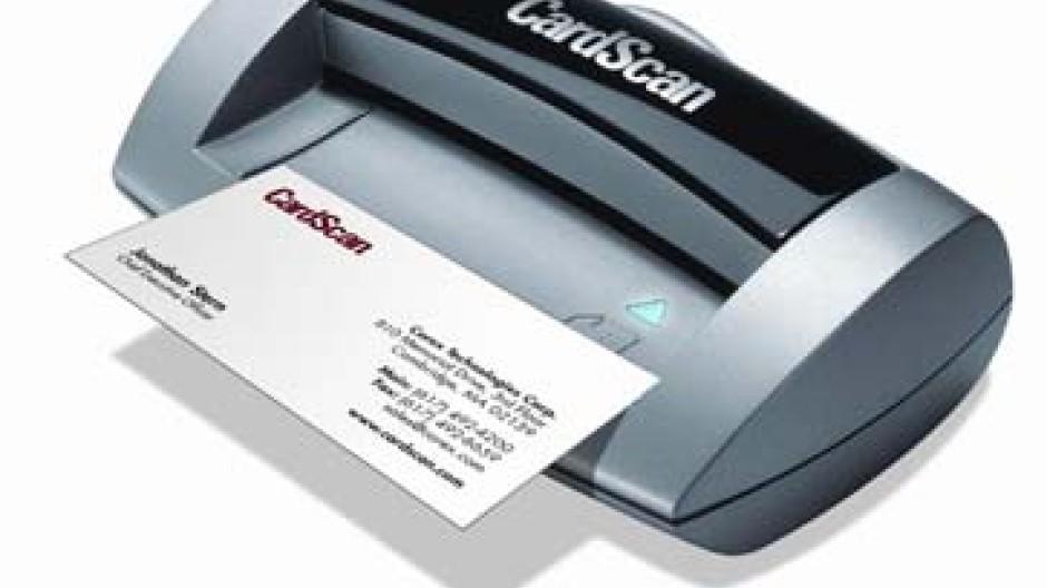 Flinke Elektronik Bringt Die Visitenkarte In Den Pc