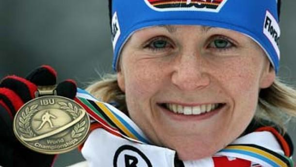 Bronze für Martina Glagow