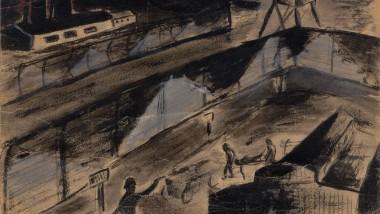 Die Bilder des jüdischen Künstlers und Holocaust-Überlebenden Yehuda Bacon wurden als Beweismaterial im Eichmann-Prozess in Jerusalem und im Frankfurter Auschwitz-Prozess zugelassen.