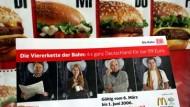 Drei Monate gültig: Bahntickets bei McDonald's