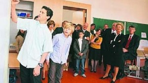 Wieder eine jüdische Schule im Philanthropin