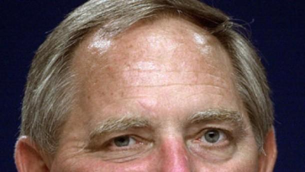 Schäuble: Ich bin nicht verletzt