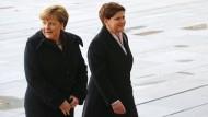 Besuch der polnischen Ministerpräsidentin in Berlin