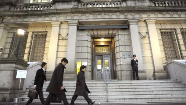 Japans Notenbank senkt Leitzins auf Null