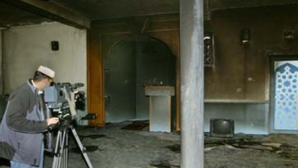 Usingen: Kein Hinweis auf politisch motivierten Anschlag auf Moschee