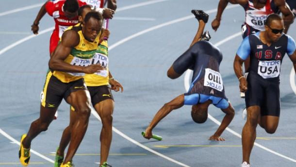 Zweiter Titel für Bolt: Staffel läuft Weltrekord