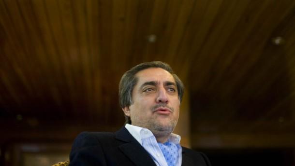 Abdullah: Taliban wollen die ganze Macht