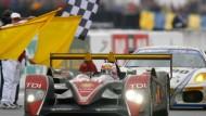 Im Dauerrennen: Audi beim 24-Stunden-Rennen in Le Mans
