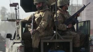 Pakistans Präsident Zardari: Das ist Krieg