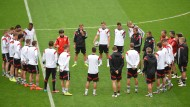 Deutsche Mannschaft brennt aufs Spiel