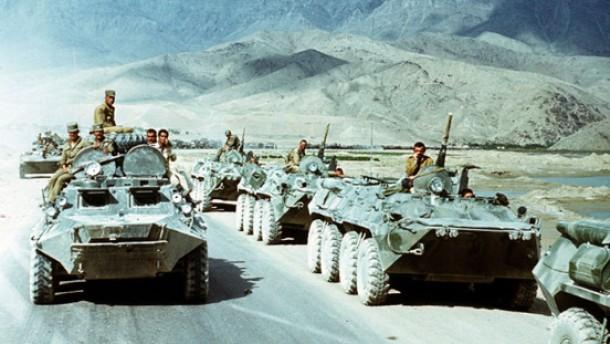 Brief Nach Afghanistan : Afghanistan das vietnam der sowjetunion ausland faz